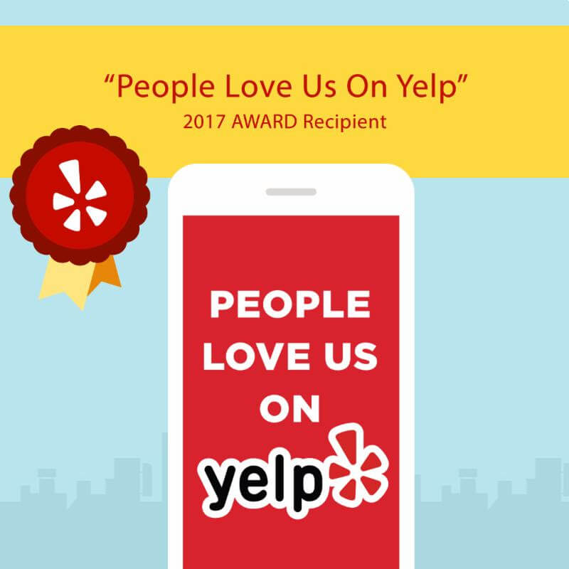 2017 Yelp Award! What an Honor!